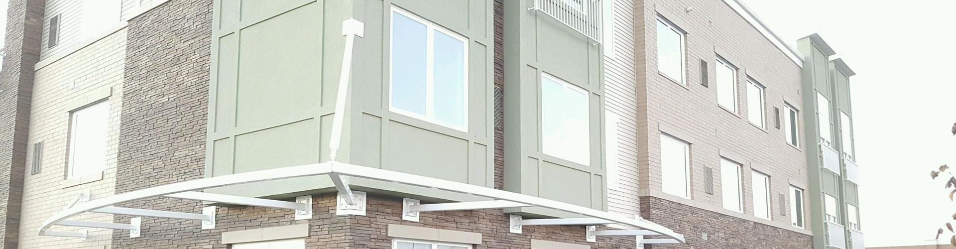 Alpolic Metal Panels : Tfc canopy fabricator of alpolic aluminum panels