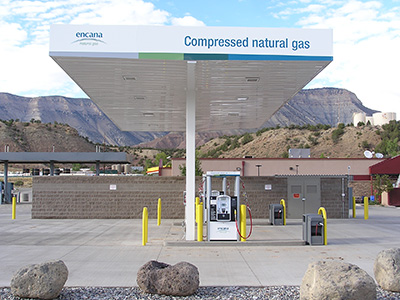 Compressed Natural Gas Canopies