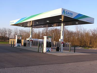 Compressed Natural Gas Canopy