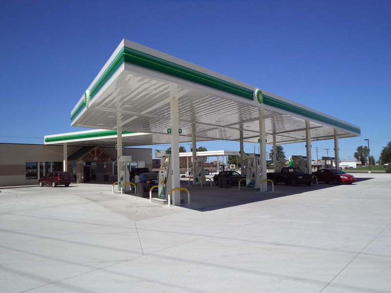 Portfolio · Architectural Canopies · Auto Dealerships & TFC Canopy | Gas and Petroleum Stations u0026 Convenience Store Canopies